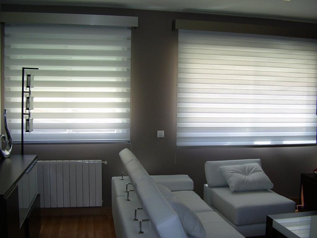 Noche d a persianas teruel carpinter a de aluminio - Tipos de cortinas y estores ...